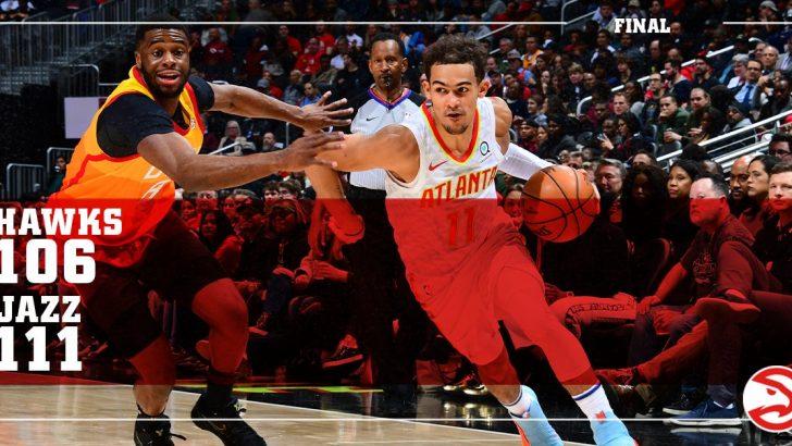Atlanta Hawks vs. Utah Jazz