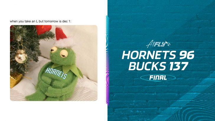 Milwaukee Bucks 137-96 Charlotte Hornets