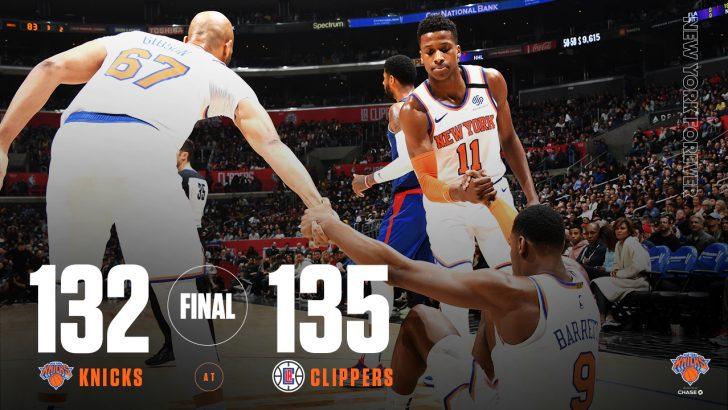 New York Knicks 132